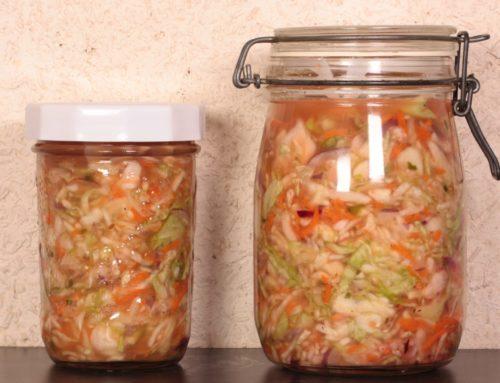 Recette de curtido (choucroute salvadorienne)
