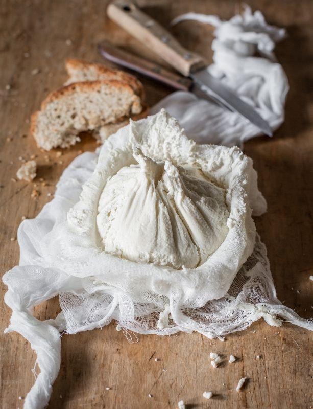 Recette de fromage de kéfir de lait