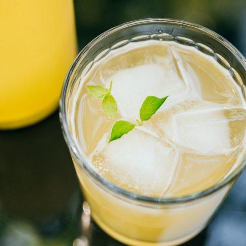Recette de kombucha ananas-menthe