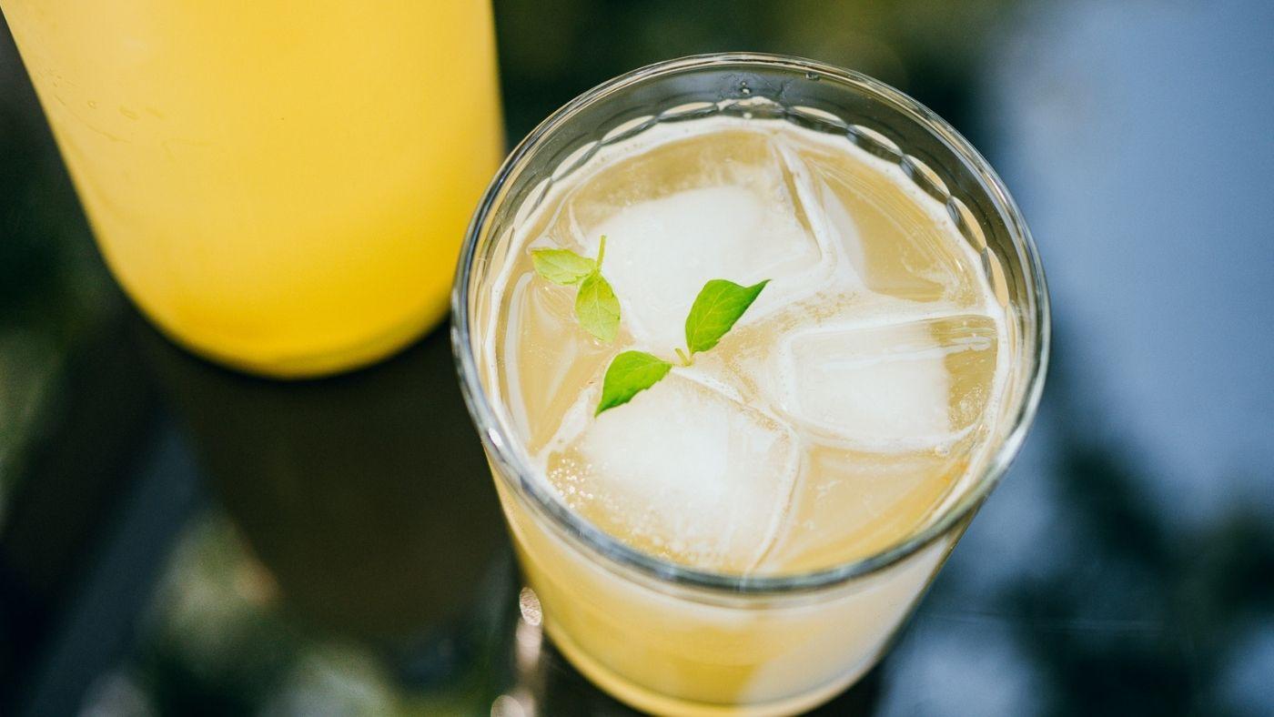 Mint and Pineapple Kombucha Recipe