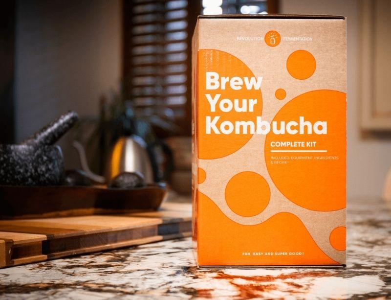 Kombucha brewing kit