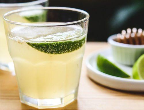 Green Tea, Lime and Honey Kombucha Recipe