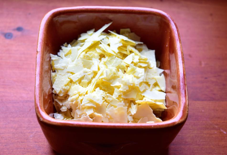 Flocons de fromage de kéfir