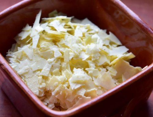 Parmesan-Style Kefir Cheese Flakes Recipe
