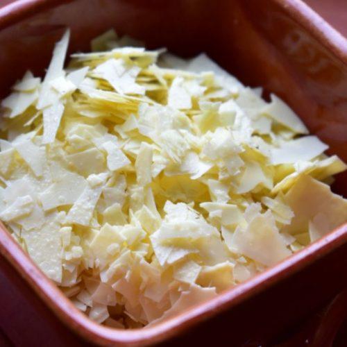 Recette de parmesan de kéfir de lait déshydraté