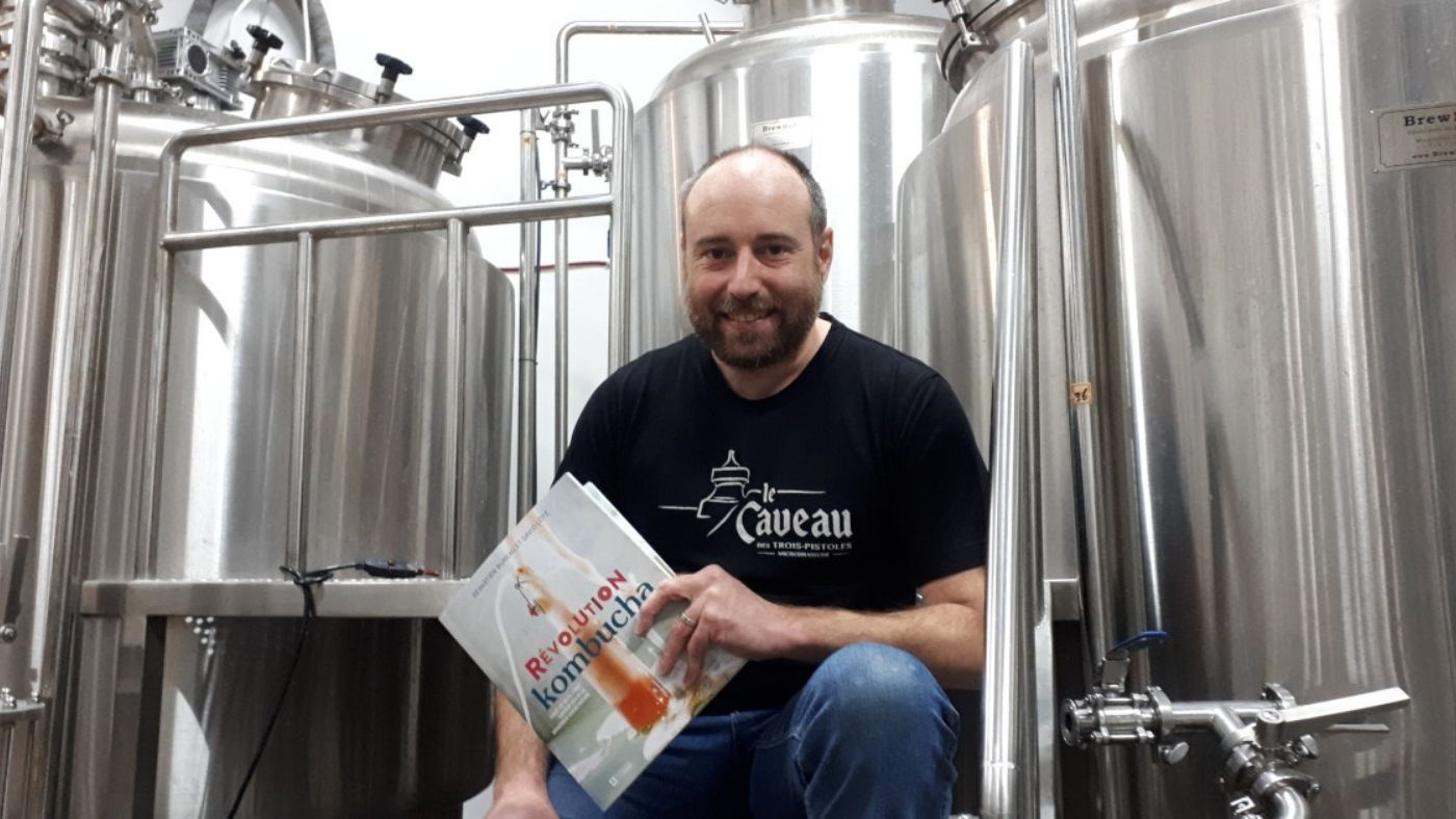 Révolution Kombucha par un brasseur de bière