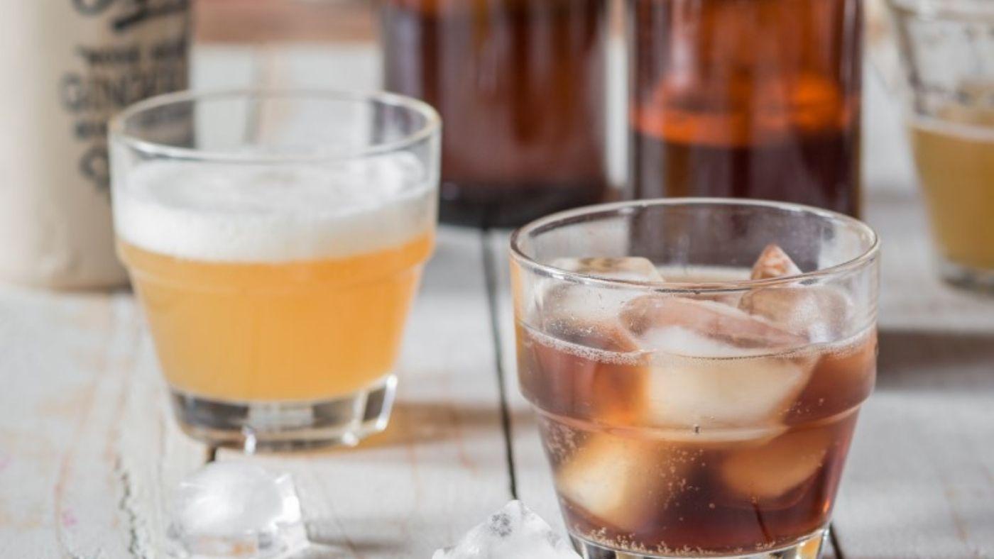 Recette de racinette (root beer) au levain de gingembre