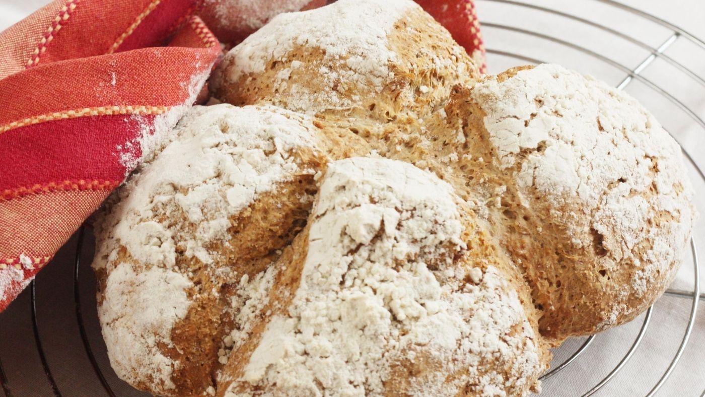 Recette de soda bread (pain rapide irlandais au bicarbonate de soude)