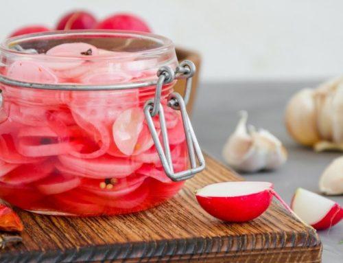 Recette de radis lacto-fermentés